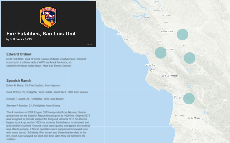 San Luis Unit PreFire and GIS